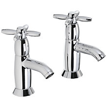 Buy Abode Opulence Bath Pillar Taps, Set of 2 Online at johnlewis.com