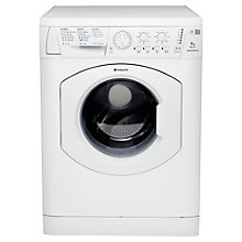 Buy Hotpoint WML721P Washing Machine, 7kg Load, A Energy Rating, 1200rpm Spin, White Online at johnlewis.com