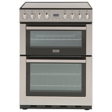 Buy Stoves SEI60MFP Induction Hob Electric Cooker, Stainless Steel Online at johnlewis.com