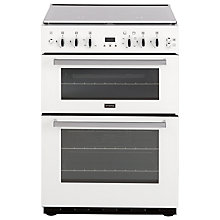 Buy Stoves SFG60DOP Fanned Gas Cooker, White Online at johnlewis.com