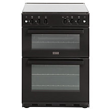 Buy Stoves SG60DO Gas Cooker, Black Online at johnlewis.com