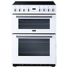 Buy Stoves SEI60MFP Induction Hob Cooker, White Online at johnlewis.com