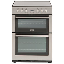Buy Stoves SEC60DOP Electric Cooker, Stainless Steel Online at johnlewis.com