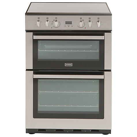 Electric Cooker Stove : Buy Stoves SEC60DOP Electric Cooker, Stainless Steel Online at ...