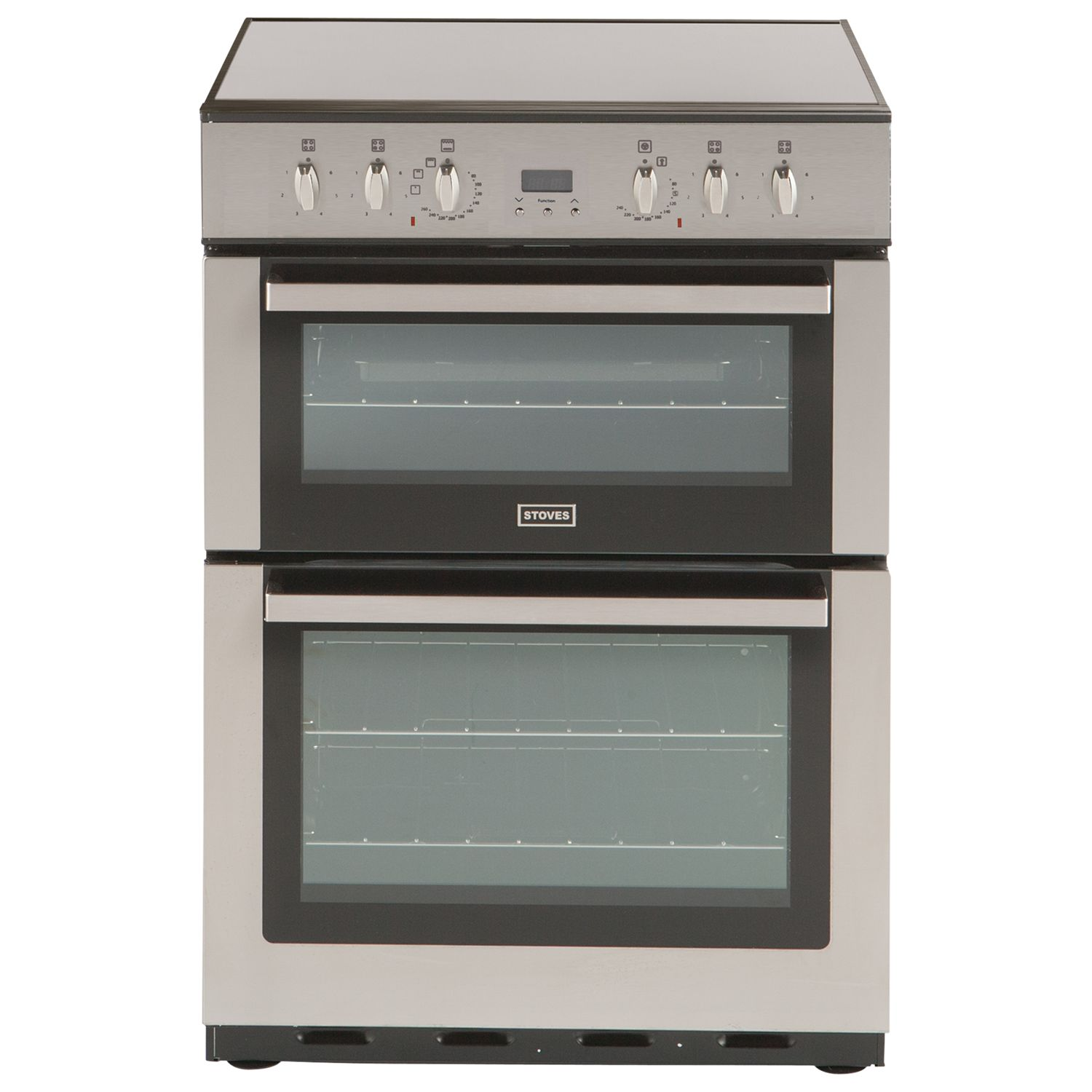 Stoves Stoves SEC60DOP Electric Cooker, Stainless Steel