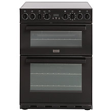 Buy Stoves SEI60MFP Induction Hob Electric Cooker, Black Online at johnlewis.com