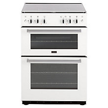 Buy Stoves SG60DO Gas Cooker, White Online at johnlewis.com