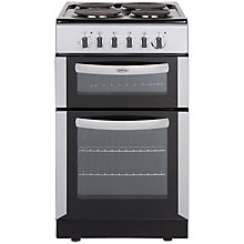 Buy Belling FSE50TC Twin Cavity Electric Cooker Online at johnlewis.com