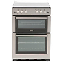 Buy Stoves SG60DO Gas Cooker, Stainless Steel Online at johnlewis.com