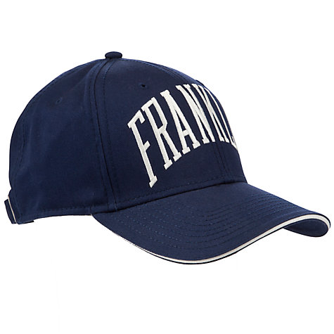 Buy Franklin & Marshall Logo Baseball Cap, One Size, Navy Online at johnlewis.com