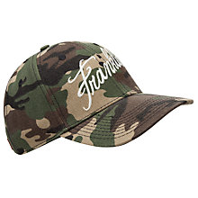 Buy Franklin & Marshall Camo Print Cap Online at johnlewis.com