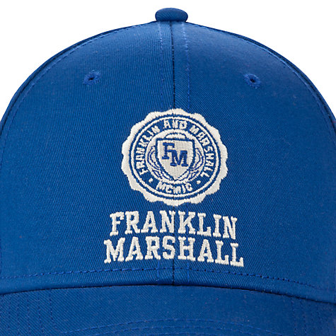 Buy Franklin & Marshall Emblem Baseball Cap Online at johnlewis.com