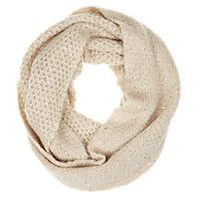 Buy Mint Velvet Mineral Sequin Snood, Camel Online at johnlewis.com