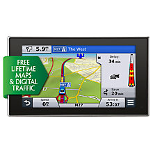 Buy Garmin nüvi 3598LMT-D GPS Navigation System, Free Lifetime UK & Western Europe Maps and Traffic with FREE Travel Accessory Pack Online at johnlewis.com