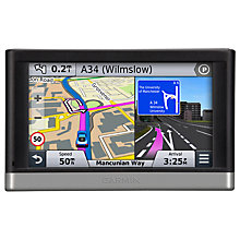 Buy Garmin nüvi 2468LMT-D GPS Navigation System, Free Lifetime UK & Western Europe Maps and Traffic Online at johnlewis.com