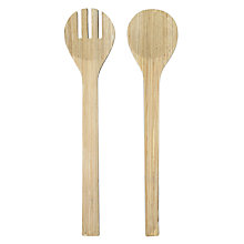 Buy John Lewis Maison Bamboo Salad Servers Online at johnlewis.com