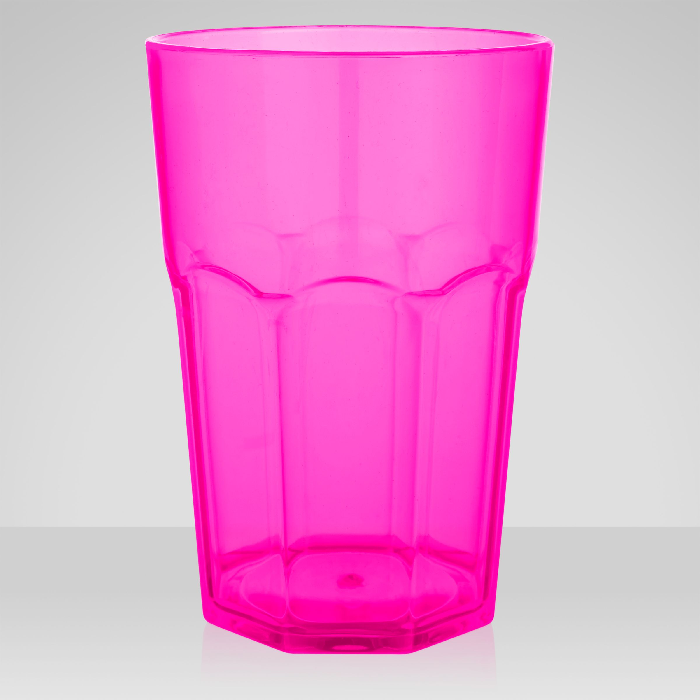John Lewis Tropicana Tumbler, Pink