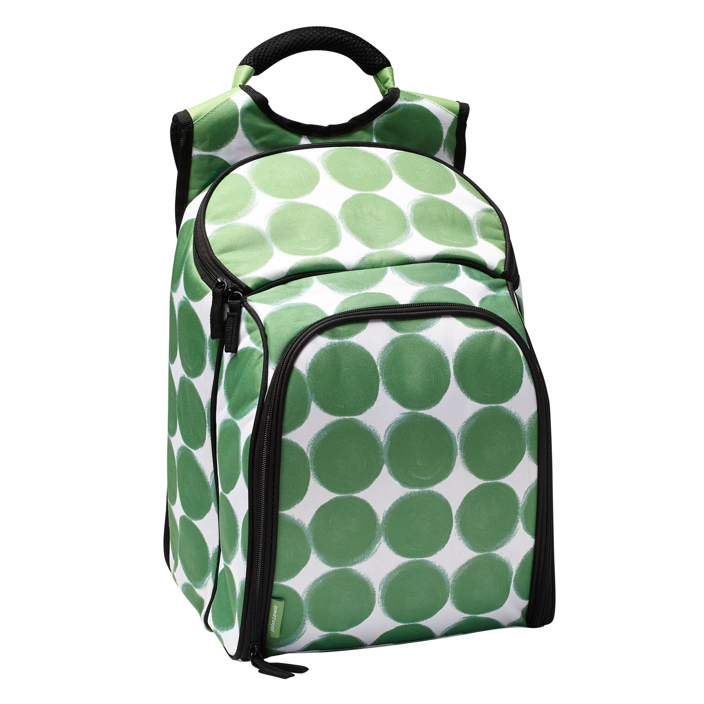 House by John Lewis Dots Family Coolbag, Empty