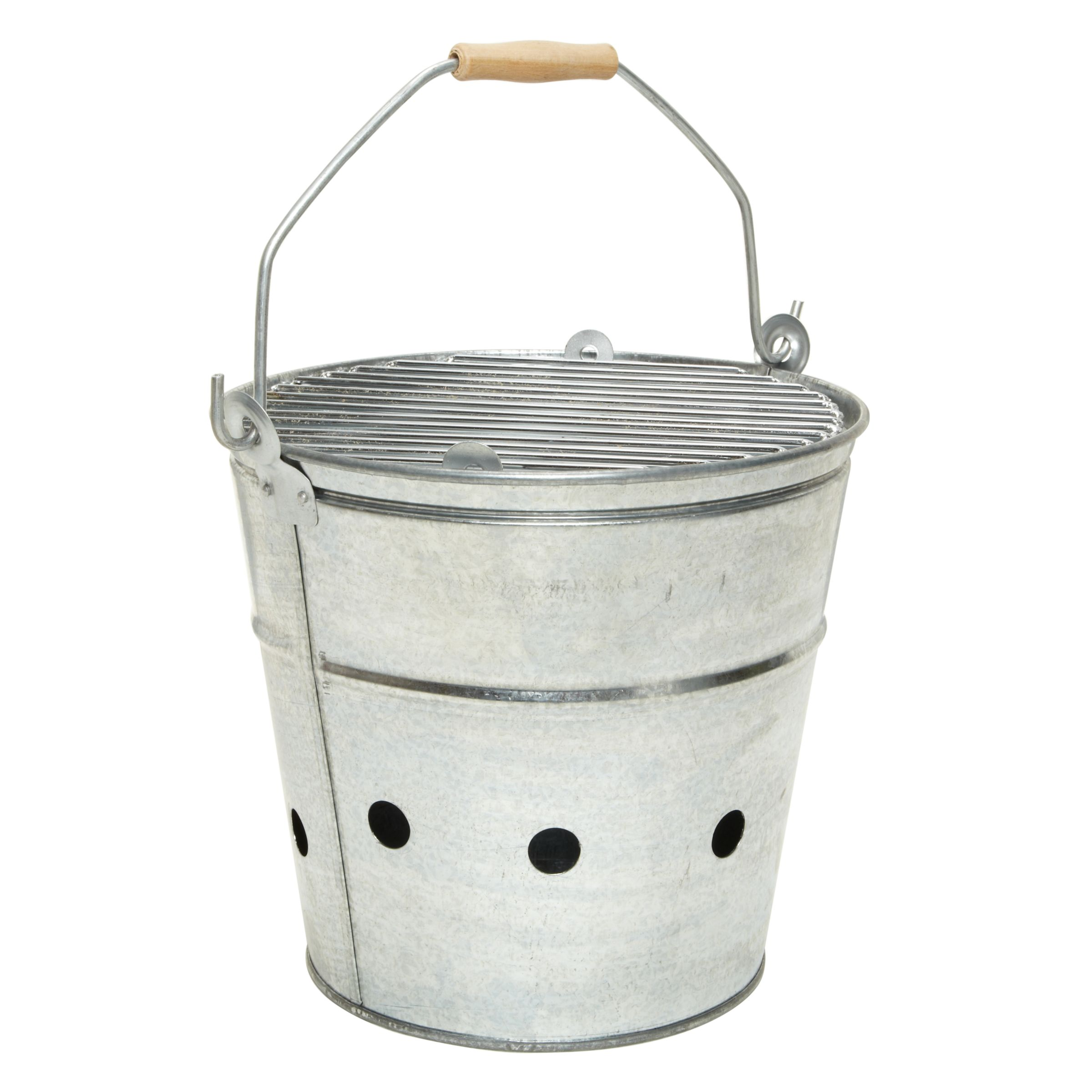 Garden Trading Whitstable Galvanised BBQ Bucket