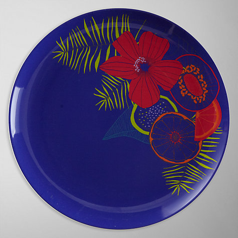 Buy John Lewis Tropicana Floral Dinner Plate Online at johnlewis.com