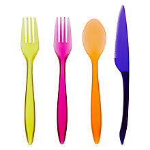 Buy John Lewis Tropicana Cutlery, 4 Sets Online at johnlewis.com