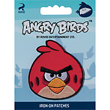 Buy Angry Birds Iron On Patch, Assorted Online at johnlewis.com