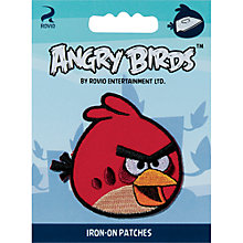 Buy Prym Angry Birds Iron-On Patches, Assorted Online at johnlewis.com