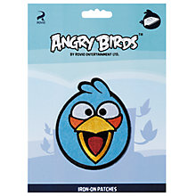 Buy Prym Angry Birds Iron-On Patch, Assorted Online at johnlewis.com