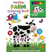 Buy Marzipan Farm Wipe Clean Colouring Book Online at johnlewis.com