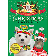 Buy Star Paws: Animal Dress Up Christmas Sticker Book Online at johnlewis.com