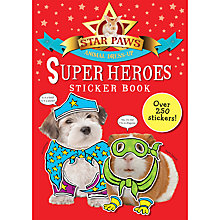 Buy Star Paws: Animal Dress-Up Superheroes Sticker Book Online at johnlewis.com