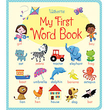Buy My First Word Book Online at johnlewis.com