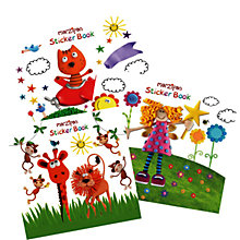 Buy Marzipan Sticker Book, Assorted Online at johnlewis.com