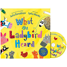 Buy What the Ladybird Heard Book and CD Online at johnlewis.com