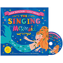 Buy The Singing Mermaid Book with CD Online at johnlewis.com