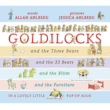 Buy Goldilocks Little Pop Up Book Online at johnlewis.com