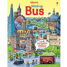 Buy Usborne Wind Up Bus Track Book Online at johnlewis.com