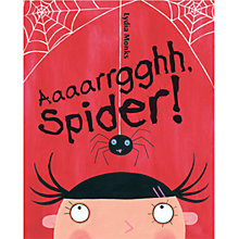Buy Aaaaaaaargh Spider Book Online at johnlewis.com