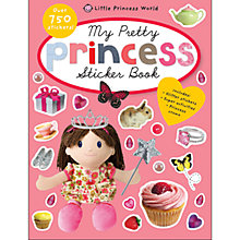 Buy My Pretty Princess Sticker Book Online at johnlewis.com