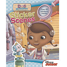 Buy Disney Doc Mcstuffins Sticker Scene Book Online at johnlewis.com