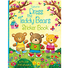 Buy Dress The Teddy Bears Sticker Book Online at johnlewis.com