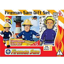 Buy Fireman Sam Book & Toy Gift Set Online at johnlewis.com