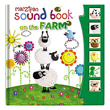 Buy Marzipan Sound Book on the Farm Online at johnlewis.com