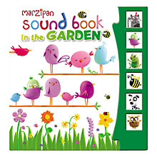 Buy Marzipan Sound Book In the Garden Online at johnlewis.com