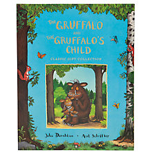 Buy The Gruffalo and The Gruffalo's Child Book Set Online at johnlewis.com