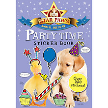 Buy Star Paws: Animal Dress Up Party Time Sticker Book Online at johnlewis.com
