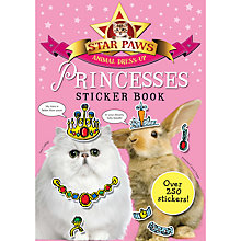 Buy Star Paws: Animal Dress Up Princesses Sticker Book Online at johnlewis.com