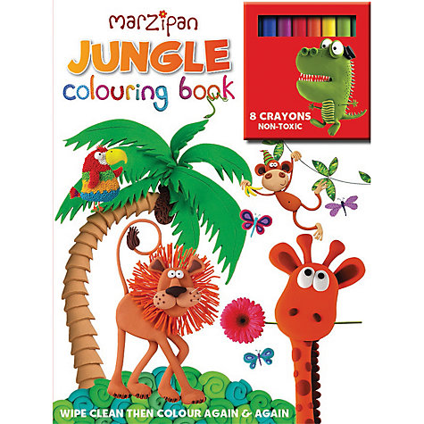 Buy Marzipan Jungle Wipe Clean Colouring Book Online at johnlewis.com