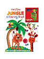 Marzipan Jungle Wipe Clean Colouring Book
