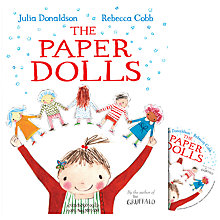 Buy The Paper Dolls Book and CD Online at johnlewis.com